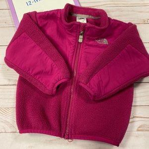 The north face toddler Denali fleece pink